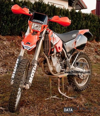 2002 KTM  EXC 450 Motorcycle Rally/Cross photo