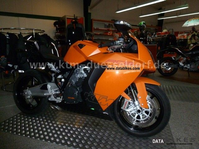 2010 KTM  1190 RC8 from 1 Hand - with warranty until 06/2014 Motorcycle Sports/Super Sports Bike photo