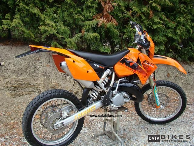 2004 ktm exc 125 enduro road admission with excel pds. Black Bedroom Furniture Sets. Home Design Ideas