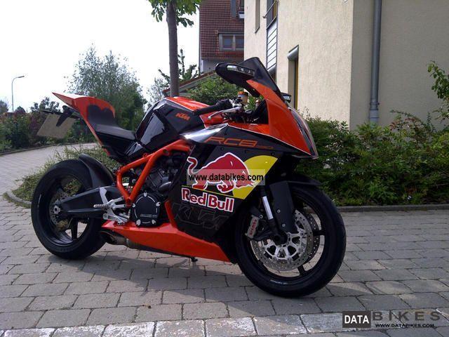 2009 KTM  Special RC8 model Akrapovic full Motorcycle Sports/Super Sports Bike photo