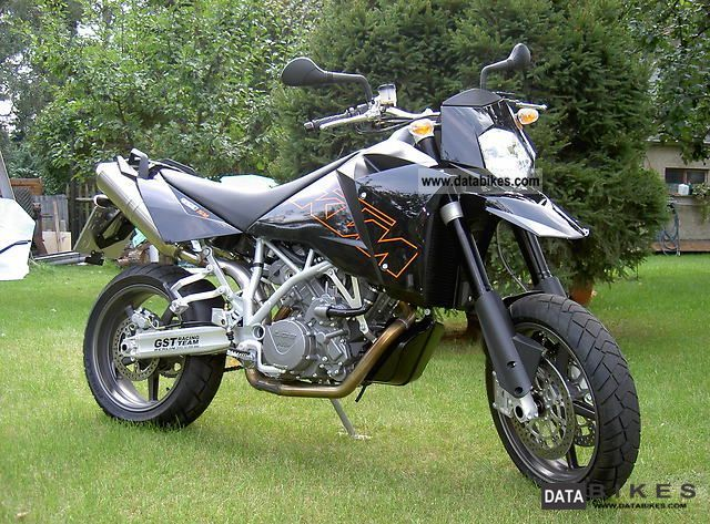 2005 ktm 950 lc8 supermoto akrapovic black bags. Black Bedroom Furniture Sets. Home Design Ideas
