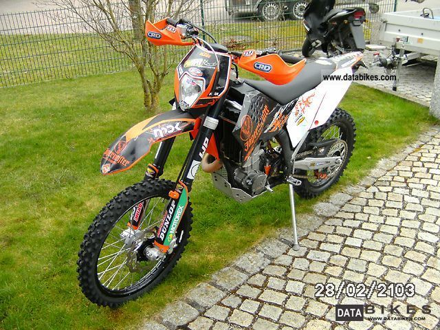 2007 KTM  EXC-R 450 Motorcycle Enduro/Touring Enduro photo