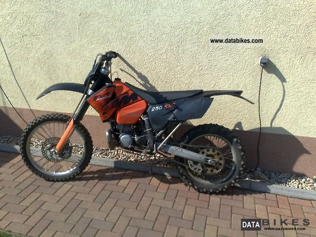 2006 KTM  250 Exc Motorcycle Enduro/Touring Enduro photo