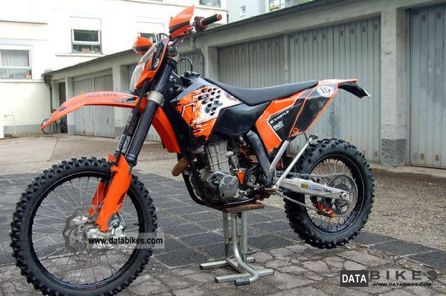 2007 KTM  2008 Model 450 EXC Motorcycle Rally/Cross photo