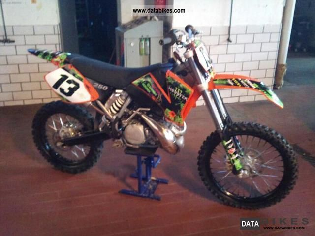 2003 KTM  250 sx model 03 Motorcycle Rally/Cross photo