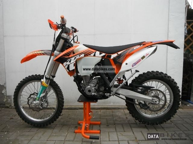 2011 KTM  350 EXC-F Motorcycle Enduro/Touring Enduro photo