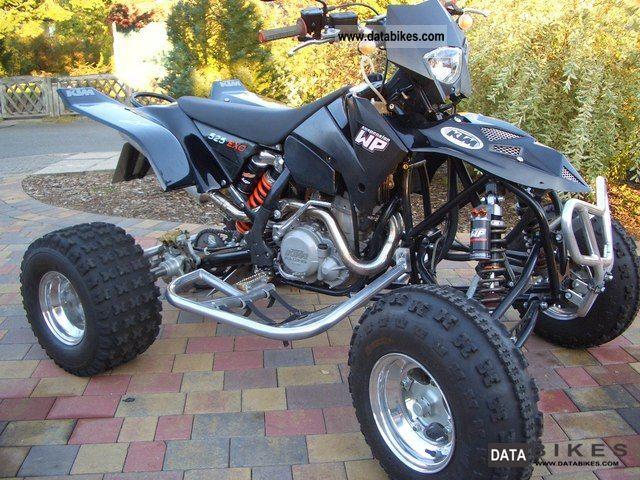2006 KTM  E-ATV Evolution 525 Motorcycle Quad photo