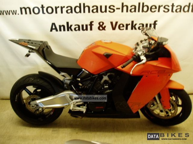 2010 KTM  RC8 Mint, financing, warranty Motorcycle Sports/Super Sports Bike photo