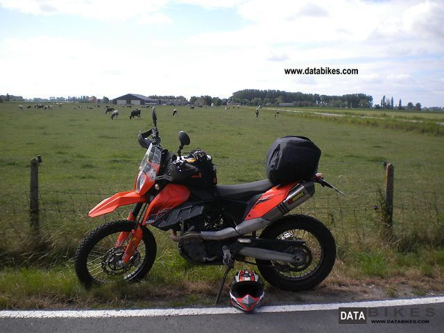 KTM  690E 2008 Enduro/Touring Enduro photo