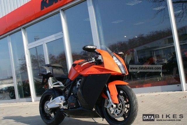 2009 KTM  RC8 model 09 with warranty Motorcycle Motorcycle photo