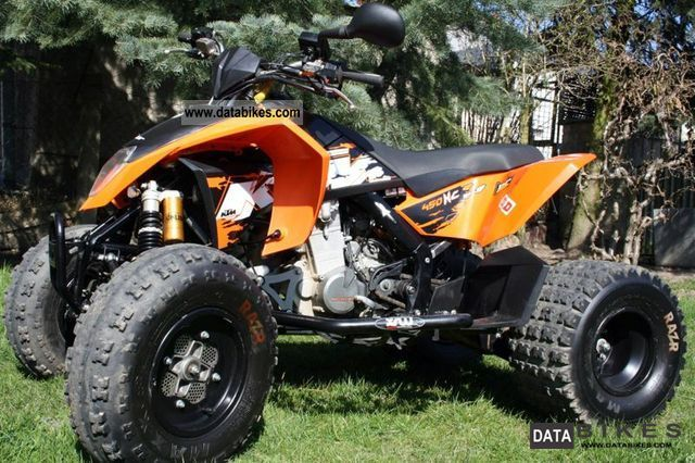 2009 KTM  XC 450 Motorcycle Quad photo
