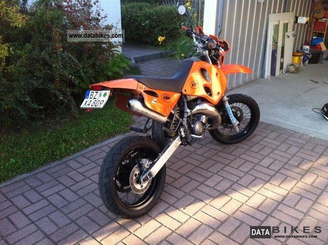 1998 KTM  LC2 STING SUPER MOTO Motorcycle Lightweight Motorcycle/Motorbike photo