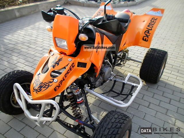 2008 KTM  E.-ATV Explorer Racinig Motorcycle Quad photo