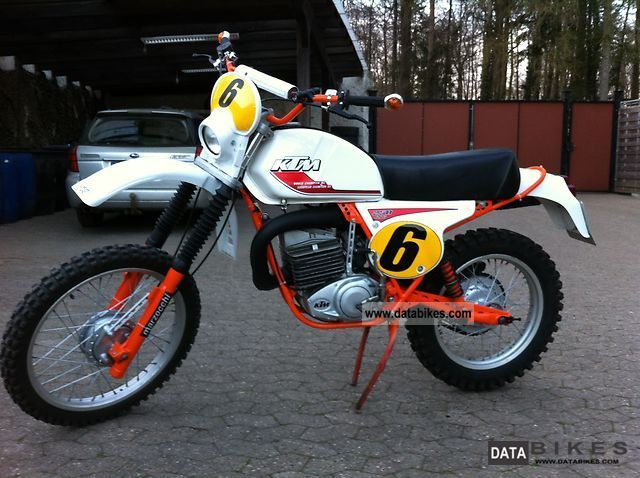 KTM  250 6 gs 1978 Vintage, Classic and Old Bikes photo