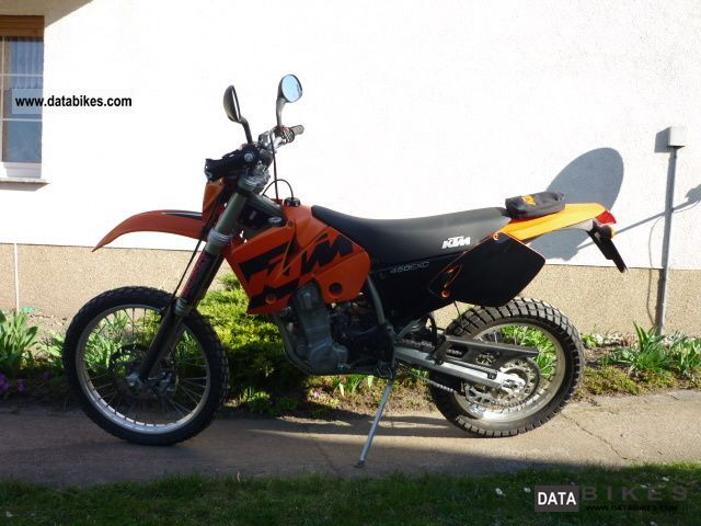 2002 KTM  450 EXC Motorcycle Motorcycle photo