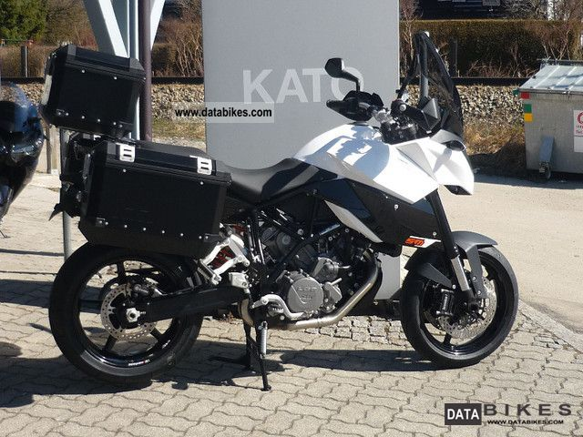 2011 KTM  SM T 990 Compare travel kit black + white Motorcycle Motorcycle photo