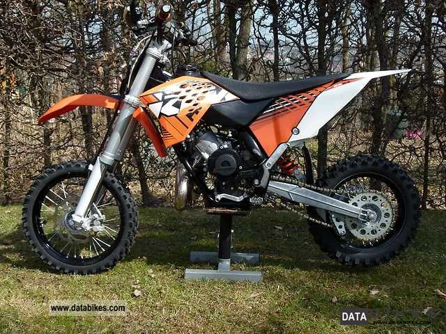 KTM  SX 65-2012 2012 Dirt Bike photo