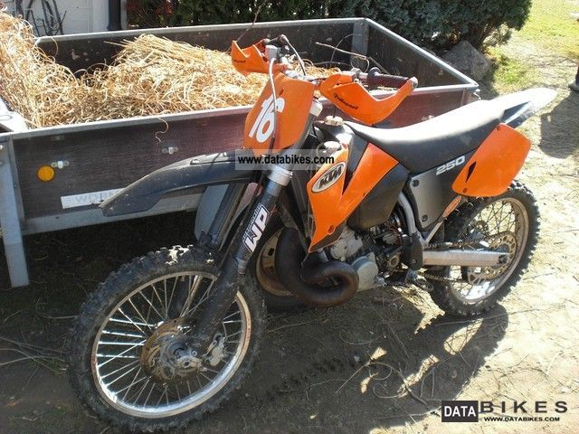 2002 KTM  250 sx Motorcycle Rally/Cross photo