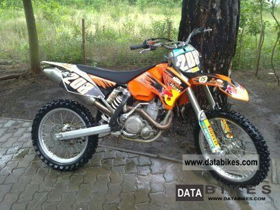 2005 KTM  SX Motorcycle Rally/Cross photo