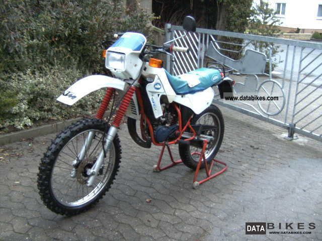 1986 KTM  GXE 50 motocross moped with approval Motorcycle Motor-assisted Bicycle/Small Moped photo