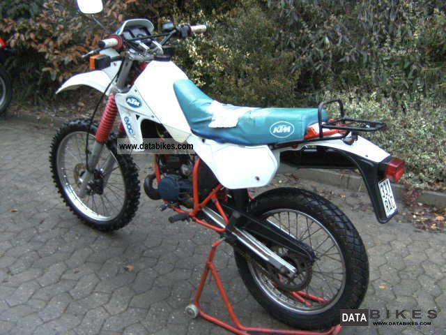 1986 ktm gxe 50 motocross moped with approval