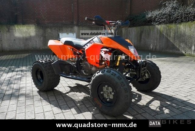 2009 KTM  XC 525 Motorcycle Quad photo