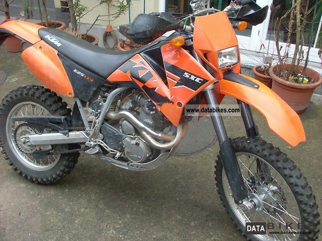 KTM  625 SXC 2006 Enduro/Touring Enduro photo