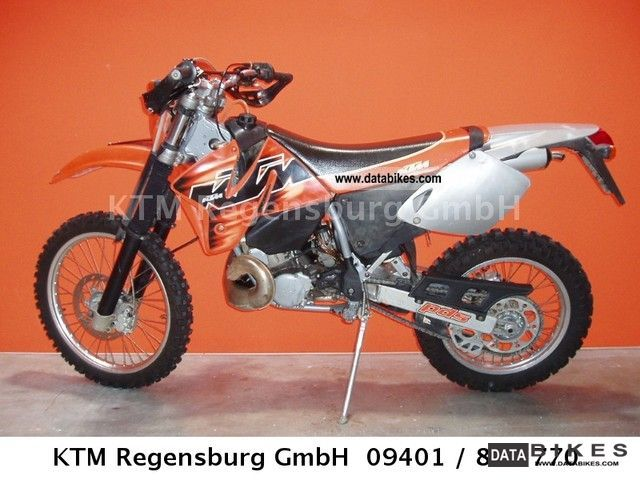 1998 KTM  300 EXC Motorcycle Motorcycle photo