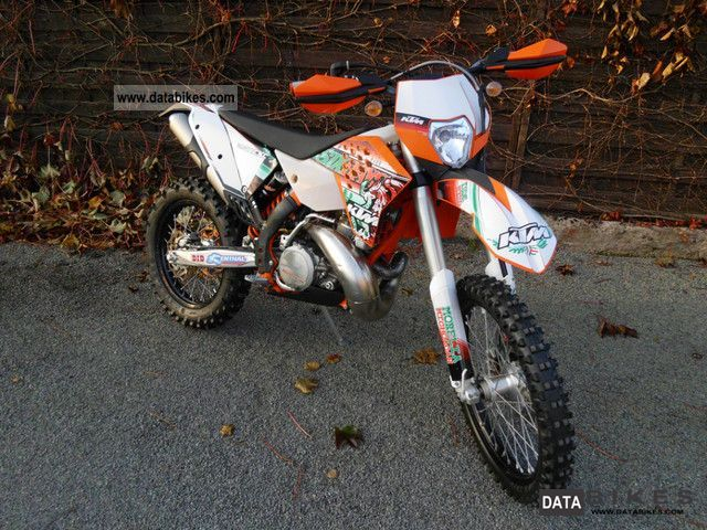 2010 KTM  250 EXC SIX DAYS MY11 Motorcycle Rally/Cross photo