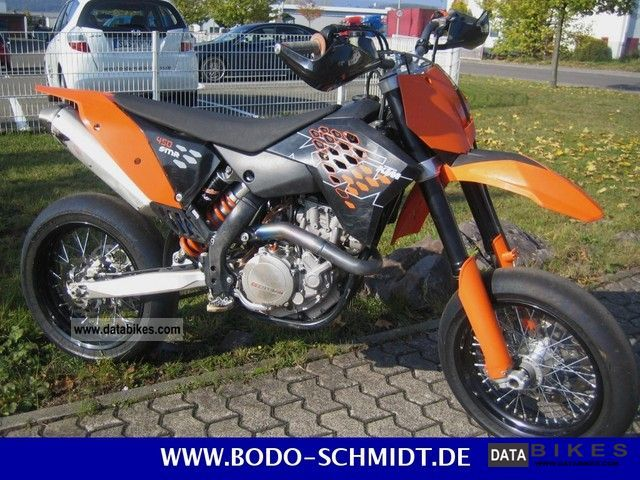 2009 KTM  450 Supermoto Motorcycle Super Moto photo