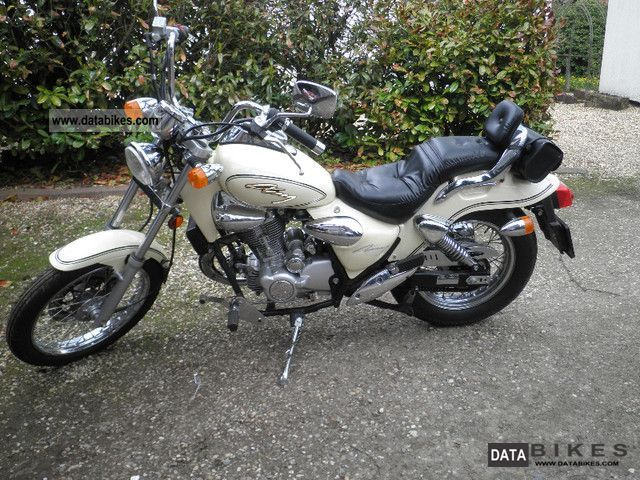 2001 Kymco  Zing 125 Motorcycle Chopper/Cruiser photo