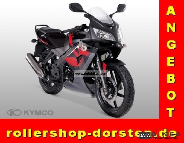 2011 Kymco  Quannon 125 Motorcycle Sports/Super Sports Bike photo