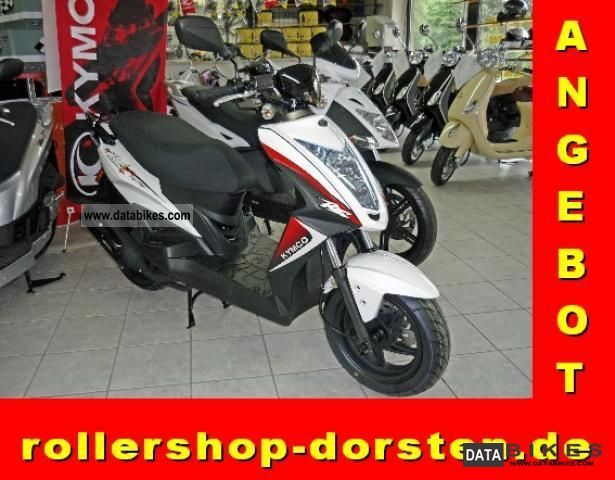 Kymco  Agility 50 RS Naked 2T 2011 Scooter photo