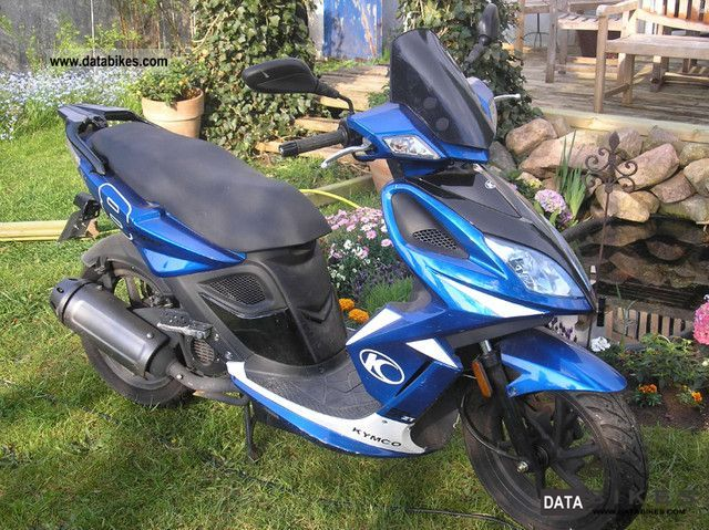 Kymco  Super 8 50 T2 with remaining warranty 2010 Scooter photo