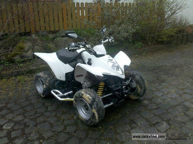 2009 Kymco  Maxxer 300 Motorcycle Quad photo
