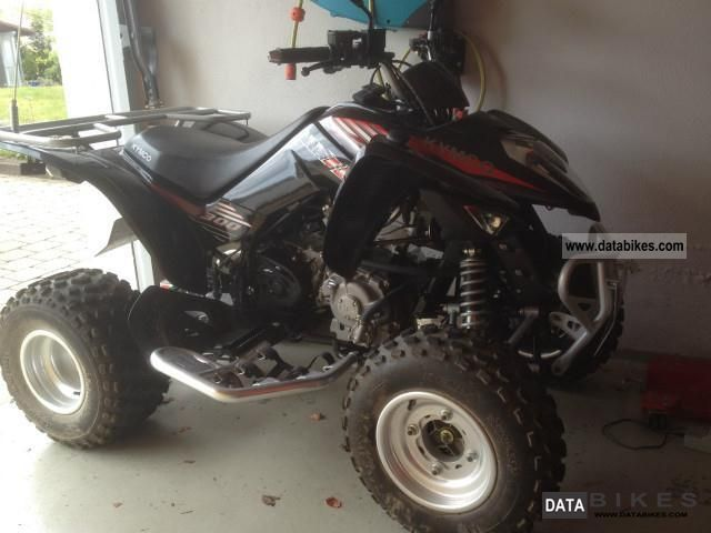 2008 Kymco  Maxxer 300 Motorcycle Quad photo