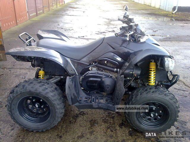 2009 Kymco  Maxxer 400 Motorcycle Quad photo