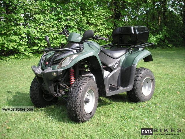 2004 Kymco  MXU 250 Motorcycle Quad photo