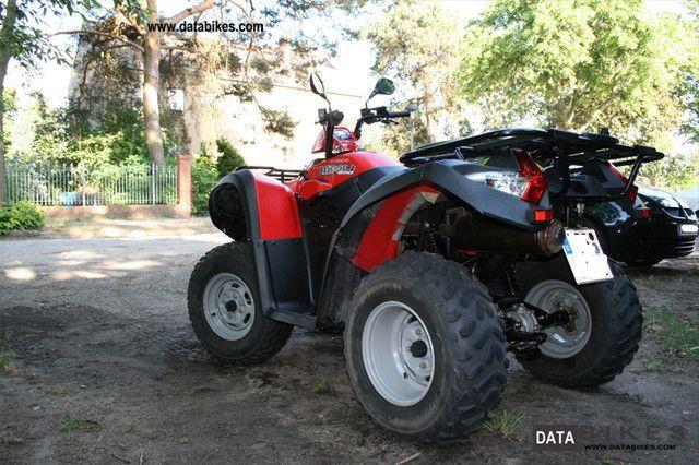 2007 Kymco  MXU 500 Motorcycle Quad photo