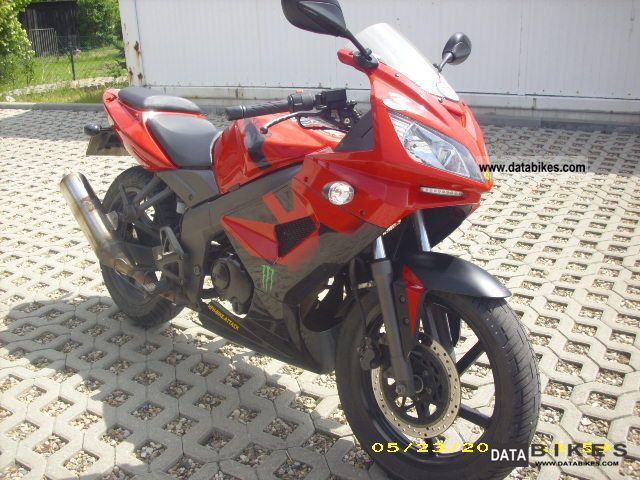 2007 Kymco  Quannon 125 Motorcycle Lightweight Motorcycle/Motorbike photo