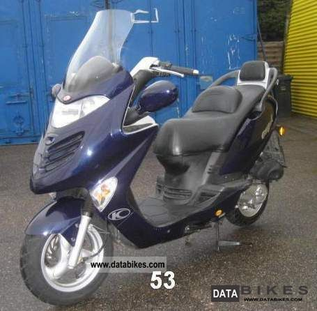Kymco  Grand Dink 50 2007 Scooter photo