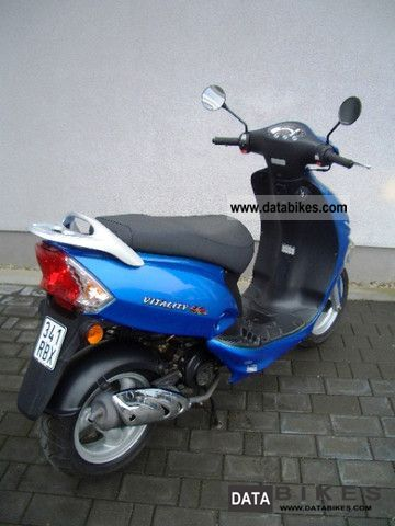 2009 kymco vitality 50 4 stroke 1 hd scheckh incl. Black Bedroom Furniture Sets. Home Design Ideas