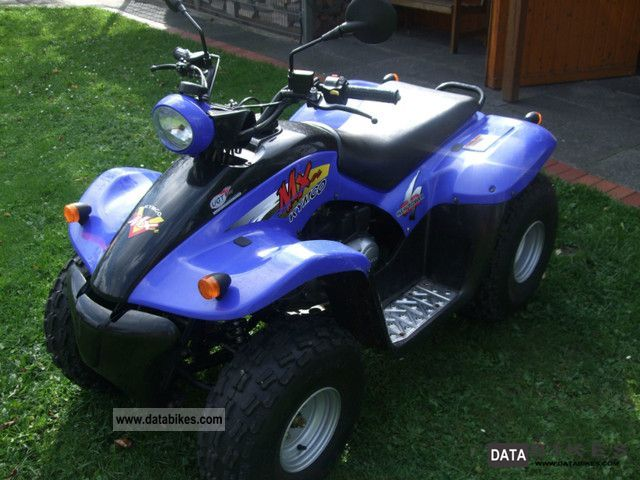 2006 Kymco  He MX 50 L2 Motorcycle Quad photo