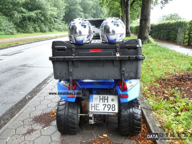 2008 Kymco  MXU 250 Motorcycle Quad photo