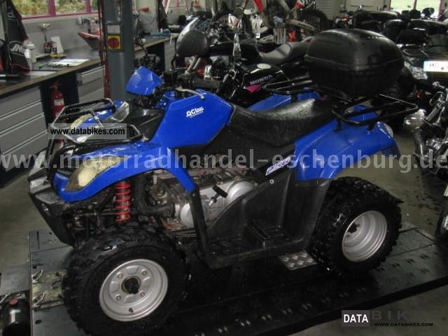 2005 Kymco  MXU 250 Motorcycle Quad photo