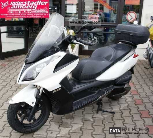 Kymco  Downtown 300cc ABS * Top case * 2009 Scooter photo