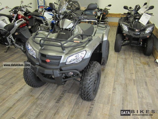 2011 Kymco  MXU450IX Motorcycle Quad photo