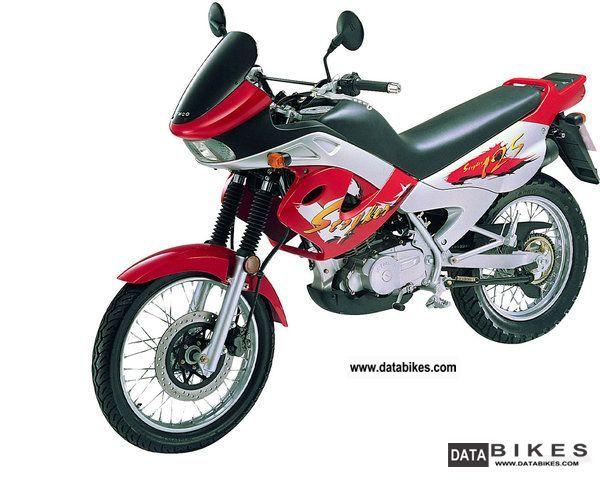 2001 Kymco  Stryker Motorcycle Enduro/Touring Enduro photo