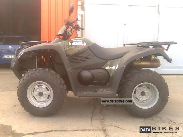 2012 Kymco  MXU 500 4x4 Motorcycle Quad photo