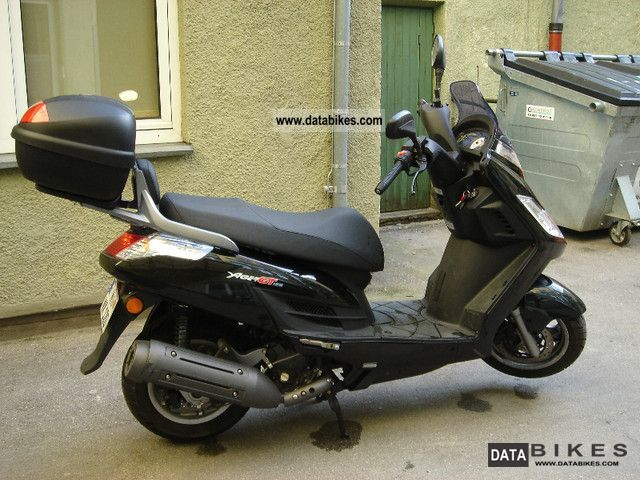 2009 kymco yager gt 125. Black Bedroom Furniture Sets. Home Design Ideas
